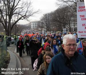 A fraction of the crowd at the March for Life in DC
