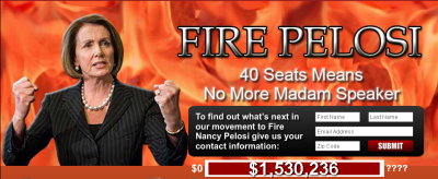Fire Nancy Pelosi!