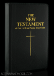 New Testament, pocket edition, Confraternity of Christian Doctrine