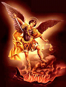 St Michael the Archangel, defend us in battle, be our protection ...