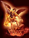 St Michael the Archangel, defend us in battle, be our protection against the wickedness and snares of the devil...