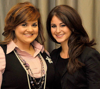Abby Johnson joins forces Live Action, Abby is seen here with LA's Lila Rose