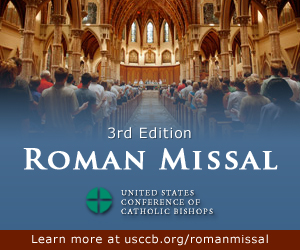 New English translation of the Roman Missal, thanks be to God!