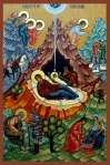 Nativity Icon, larger image at end of this post