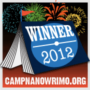 Camp NaNoWriMo June 2012 Winner! Yay!
