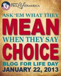 Be honest about what the mean choice really means