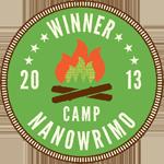 Winner Camp NaNoWriMo April 2013