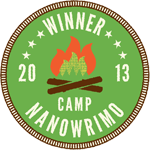 Camp NaNoWriMo April 2013 Winner!