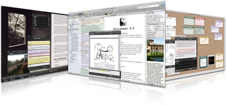 Scrivener lets me write the way I want to