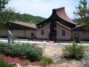 EWTN, Chapel, Exterior