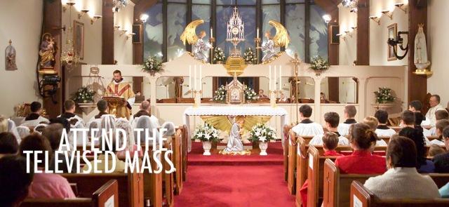 Mass at EWTN