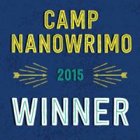 WINNER! Camp NaNoWriMo April 2015
