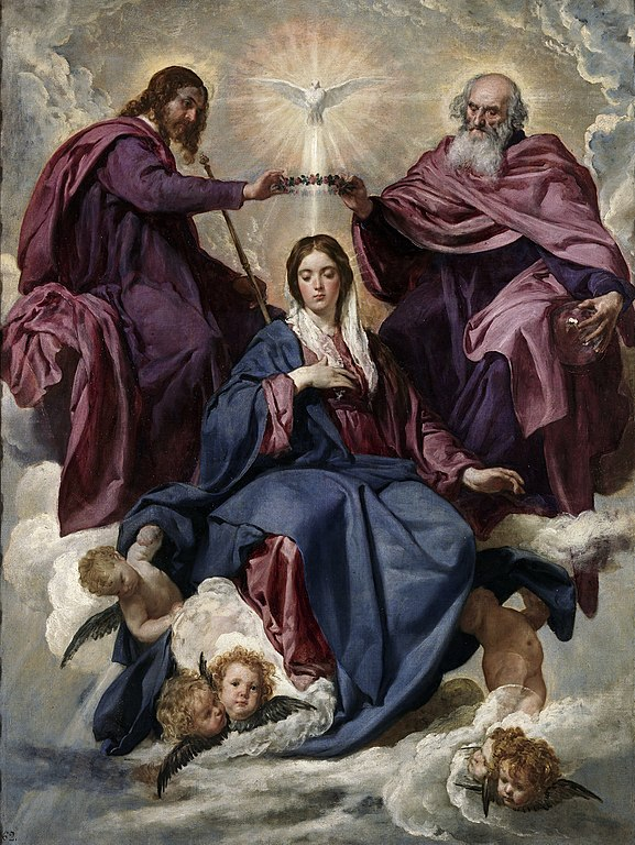 Diego Velázquez - Coronation of the Virgin