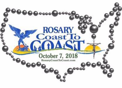 Rosary Coast to Coast Logo