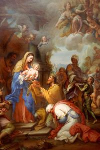 Giuseppe Chiari - Adoration of the Magi