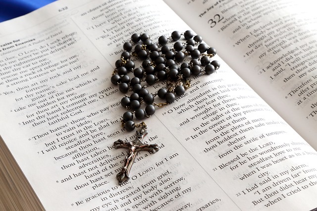 Prayerful study and (Christian) meditation on the Word of God with the Rosary.