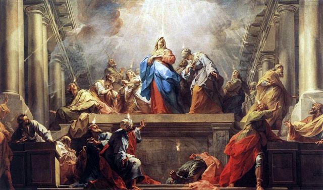 Pentecost by Jean Restout - Public domain