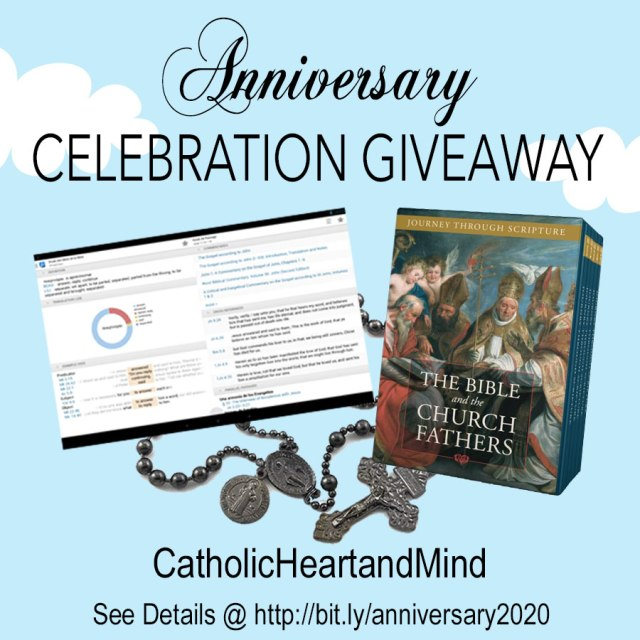 Anniversary Celebration Giveaway 2020