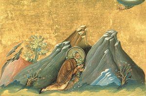 Icon of Vendimian of Bythinia, Menologion of Basil II