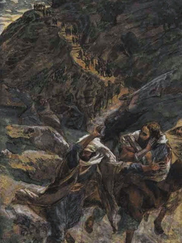 Tissot, The Flight of the Apostles