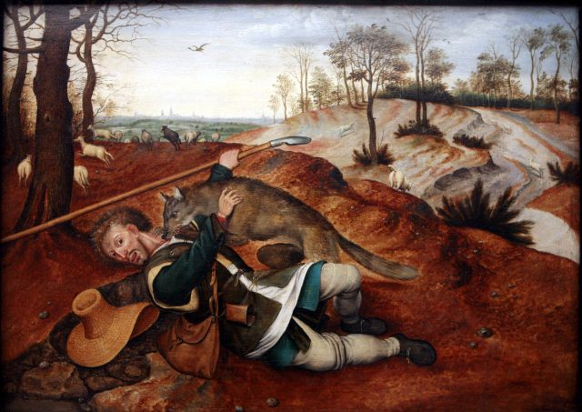 The Good Shepherd by Pieter Brueghel II